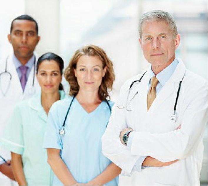 Midshires Healthcare Professionals Site Image